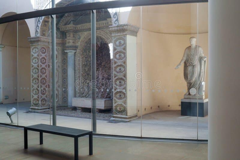 博物馆当代艺术的克罗Bilotti在罗马,意大利 库存照片