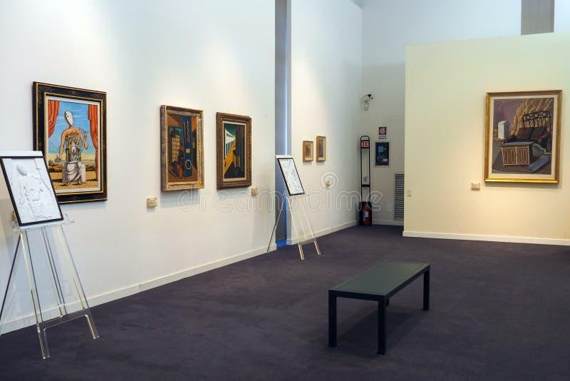 博物馆当代艺术的克罗Bilotti在罗马,意大利 免版税库存照片
