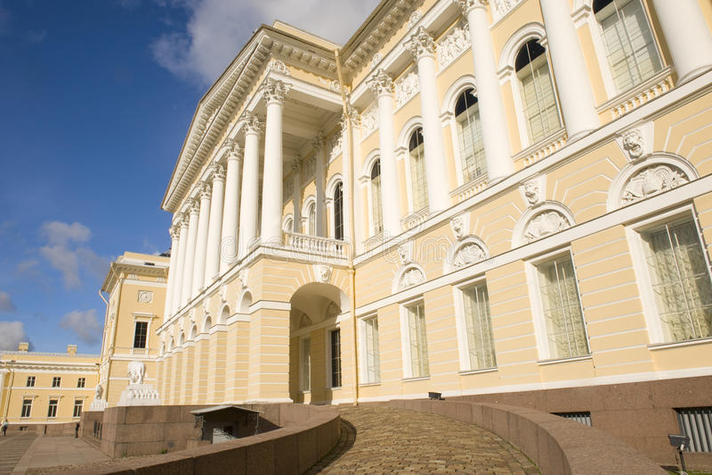 博物馆彼得斯堡俄国st 免版税图库摄影
