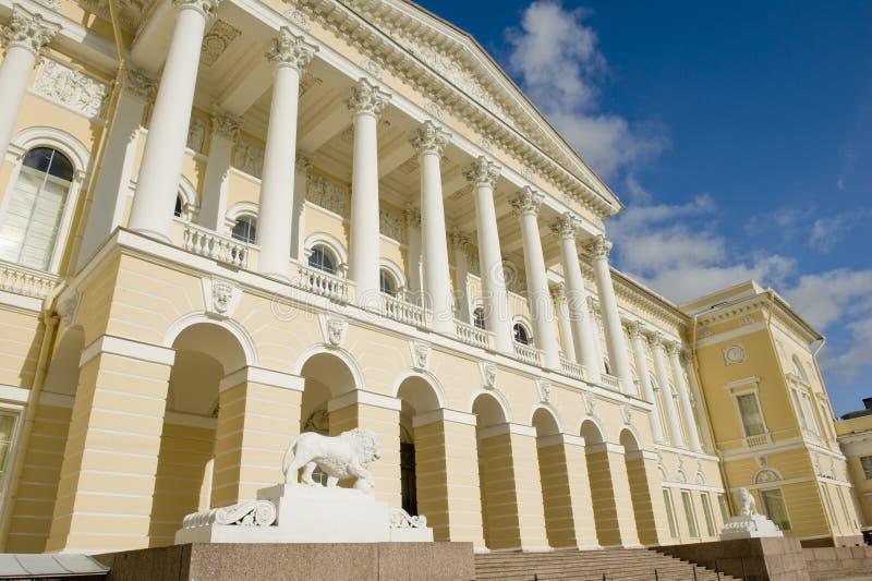 博物馆彼得斯堡俄国st 免版税库存照片