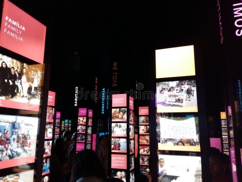 博物馆明天 免版税图库摄影