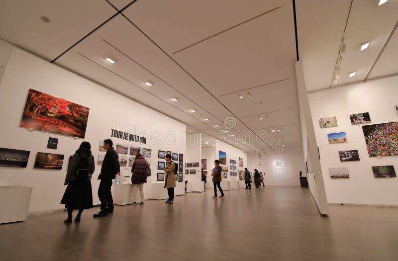 博物馆画廊今池日本 免版税库存图片
