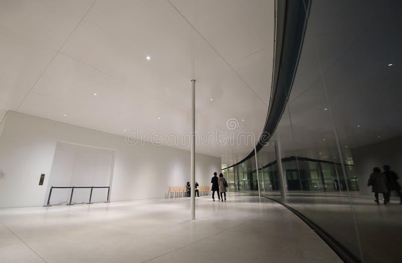 博物馆画廊今池日本 免版税库存照片