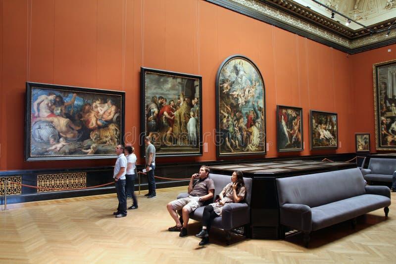 博物馆维也纳 库存照片