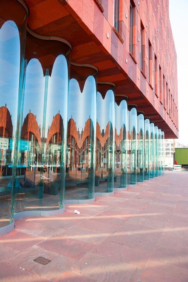 博物馆aan der Stroom,安特卫普,比利时 免版税库存照片