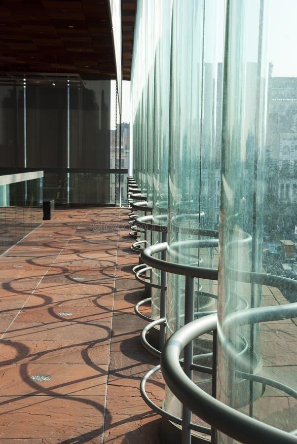 博物馆aan der Stroom,安特卫普,比利时 免版税图库摄影