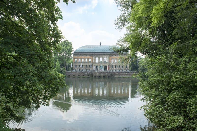 博物馆K 21在杜塞尔多夫 免版税库存图片