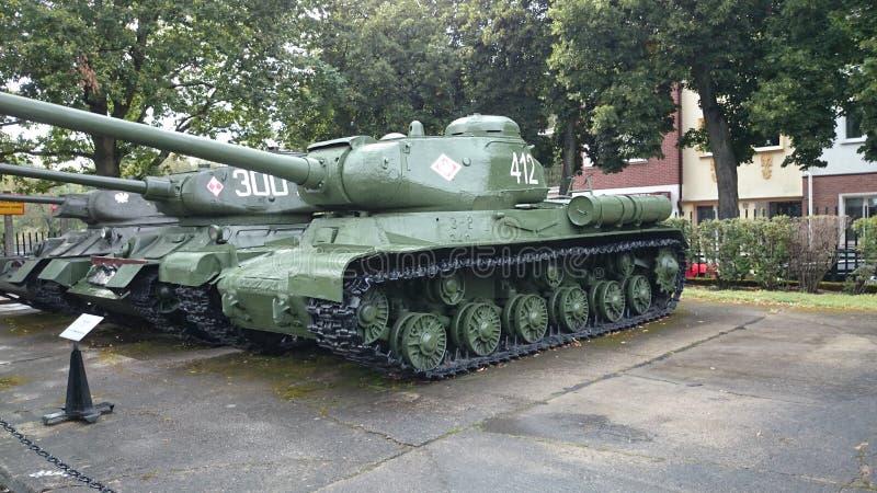博物馆KoÅ 'obrzeg Polen Panzer苏联 免版税库存照片