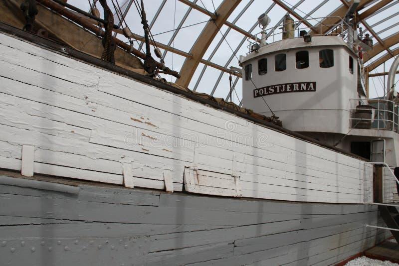 博物馆Poltsjerna,市特罗姆瑟,挪威 库存图片