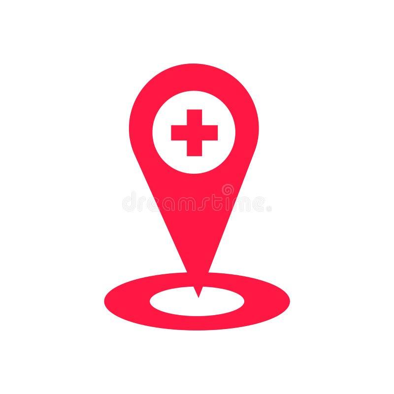 占位符在白色背景隔绝的象传染媒介,占位符标志,灾害标志 向量例证