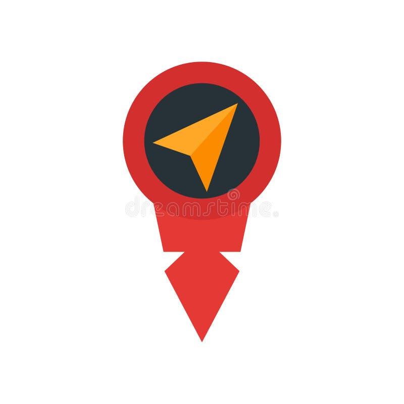 占位符象在白色背景和标志隔绝的传染媒介标志,占位符商标概念 皇族释放例证