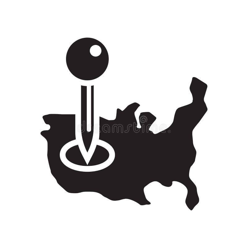 占位符象在白色backgr和标志隔绝的传染媒介标志 皇族释放例证