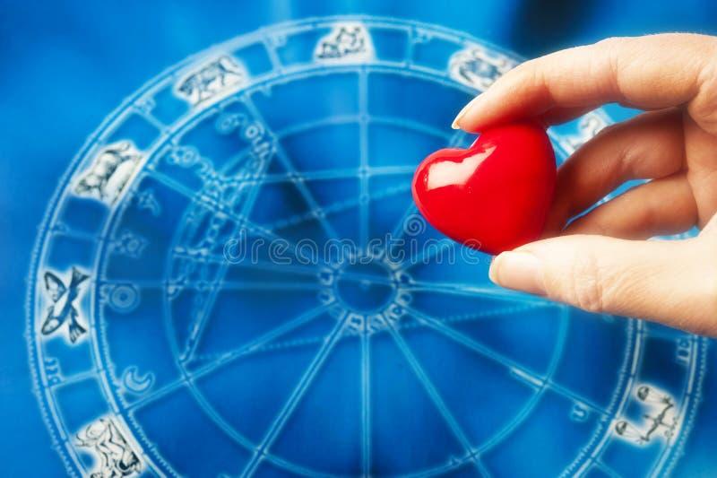 占星术和爱 免版税图库摄影