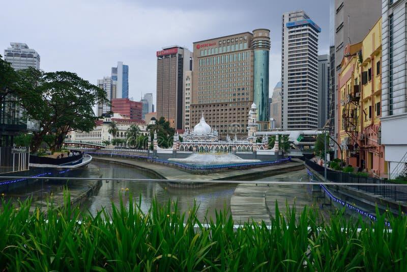 占米回教堂吉隆坡 免版税库存照片