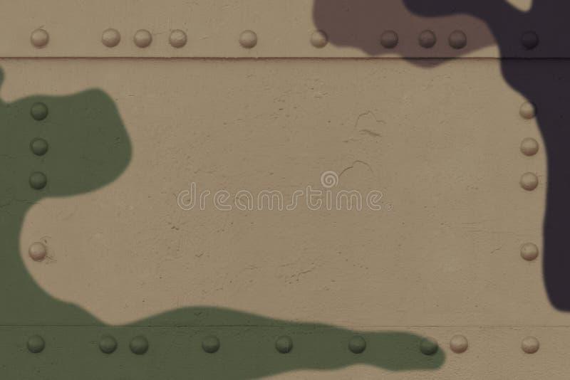 卡其色的色的军队背景 库存照片