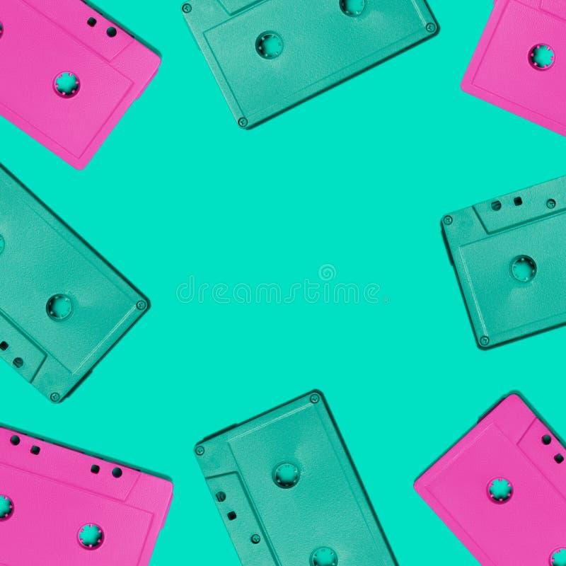 卡型盒式录音机 图库摄影