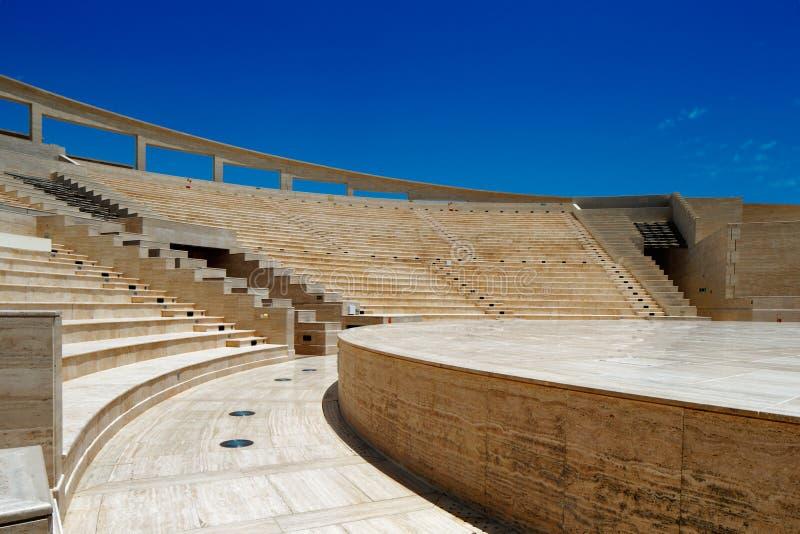 卡塔拉圆形剧场,多哈,卡塔尔 免版税库存照片