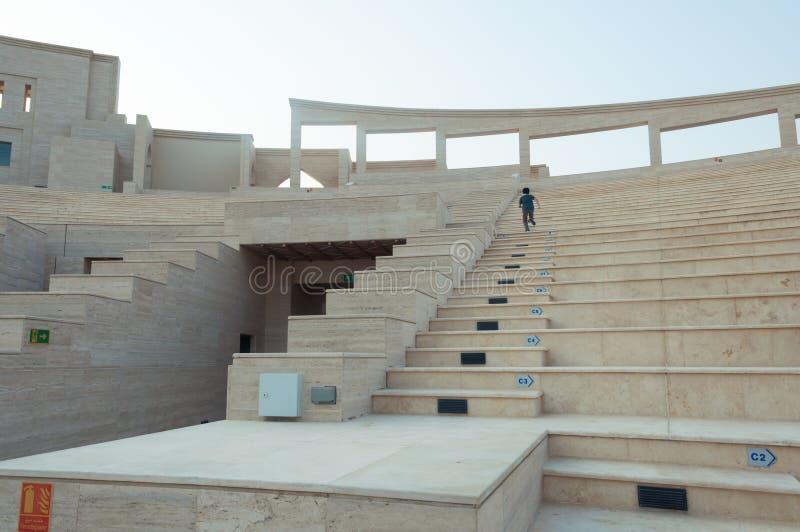 卡塔拉圆形剧场 库存照片