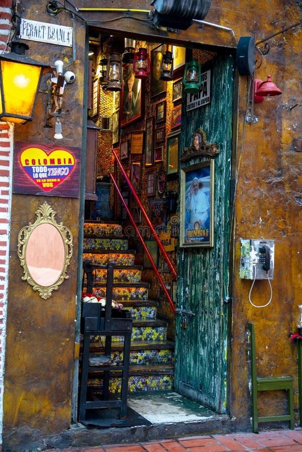卡塔赫钠哥伦比亚,耶路撒冷旧城,旅行 库存照片