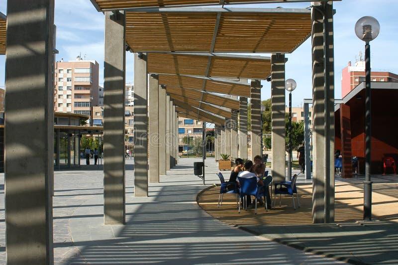 卡塔赫钠西班牙国王正方形 免版税图库摄影