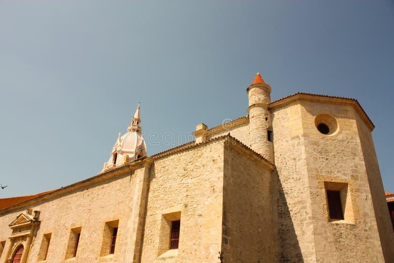 卡塔赫钠cathedral de indias 库存图片