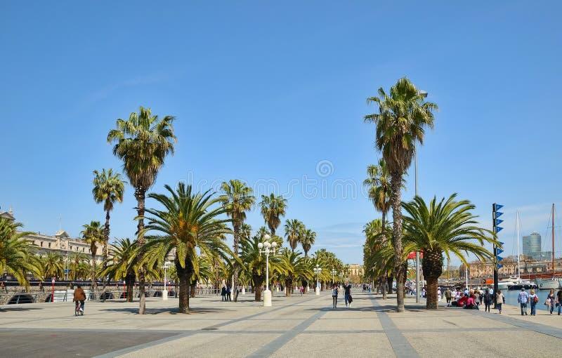 卡塔龙尼亚巴塞罗那的首都 免版税库存照片