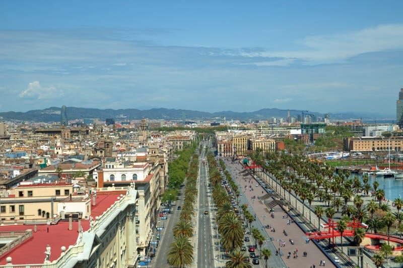 卡塔龙尼亚巴塞罗那的首都 免版税图库摄影
