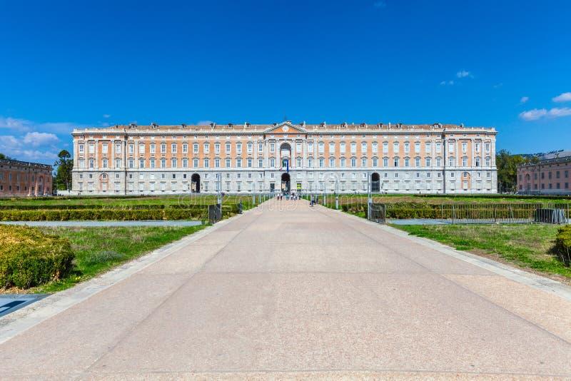 卡塞尔塔意大利语王宫:Reggia二卡塞尔塔 库存照片