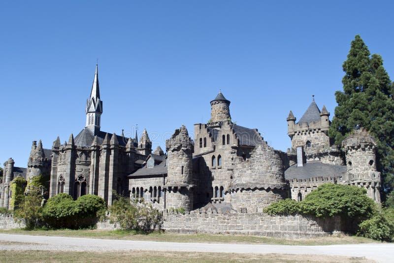 卡塞尔- Lowenburg或者狮子城堡 免版税库存图片