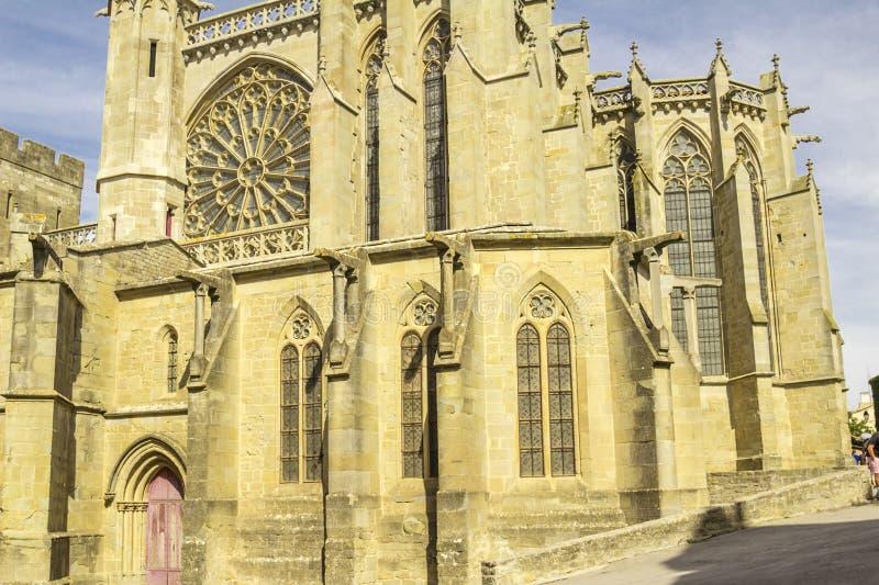 卡尔卡松中世纪堡垒  免版税图库摄影