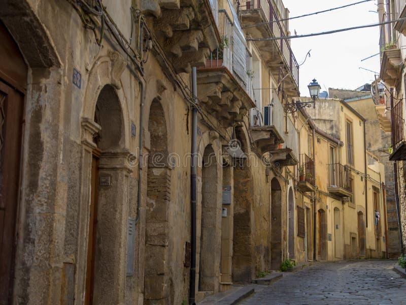 卡尔塔吉龙,西西里岛,意大利 免版税库存照片
