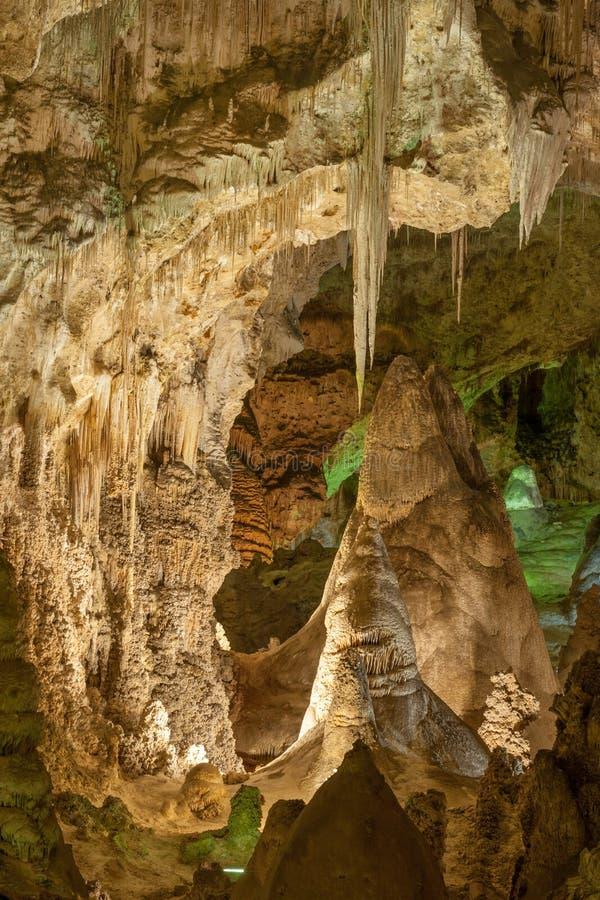 卡尔斯巴德洞穴国家公园 免版税图库摄影