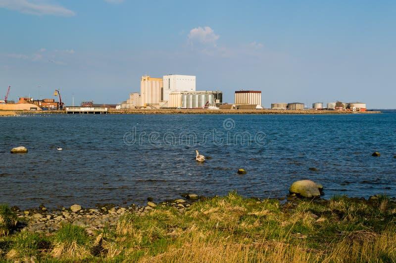 卡尔马港口 库存照片