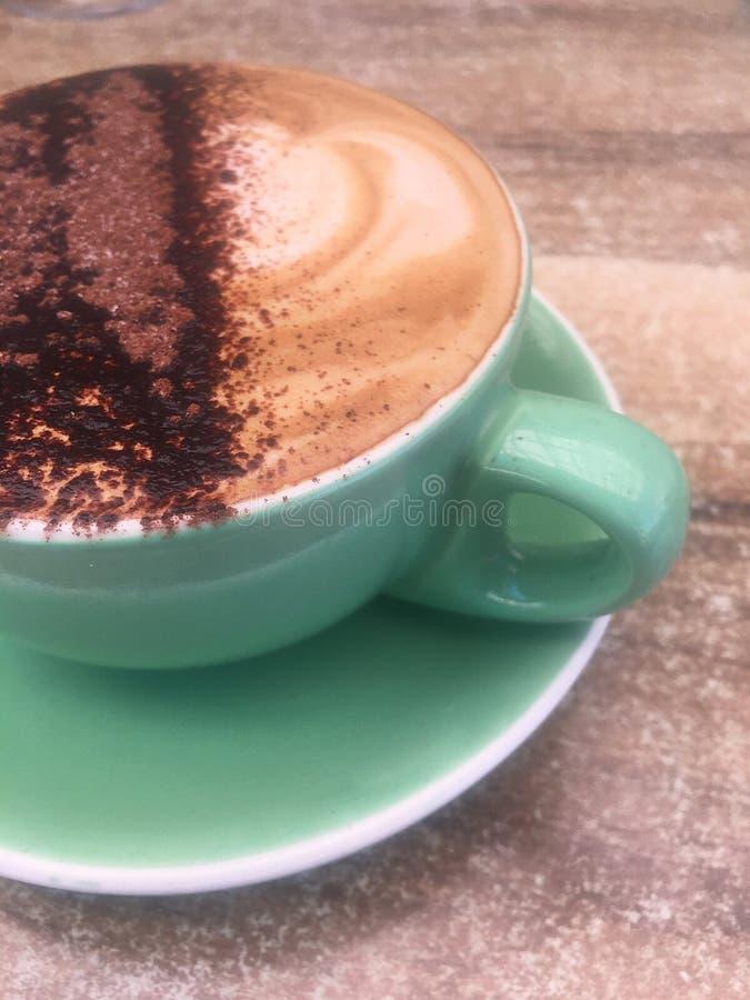 卡布奇诺咖啡 库存图片