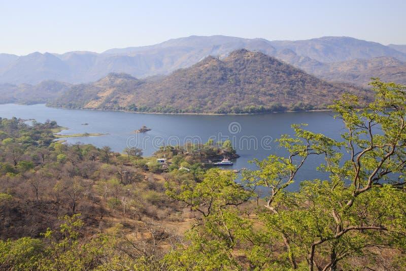 卡布拉巴萨水库水坝 免版税图库摄影
