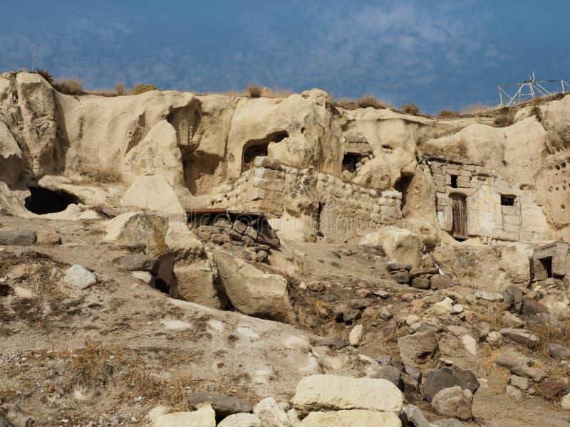 卡帕多细亚,土耳其地下  库存图片