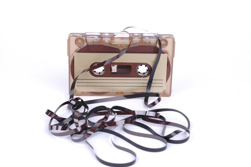 卡式磁带音乐磁带 库存照片