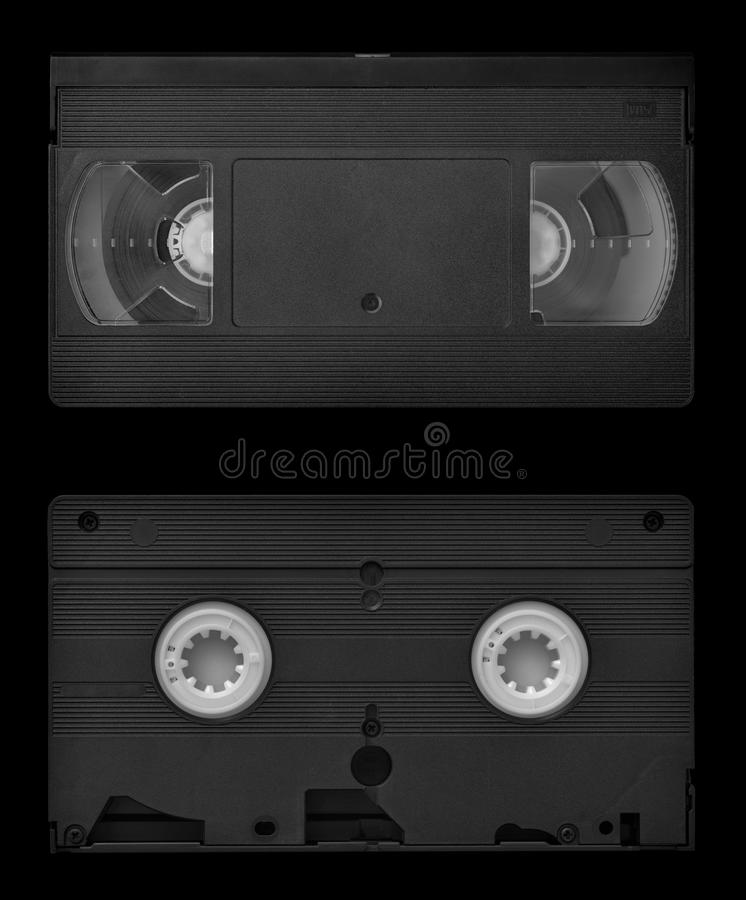 卡式磁带vhs录影 库存图片