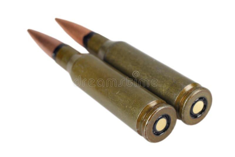 卡拉什尼科夫5 45 mm弹药筒 库存照片