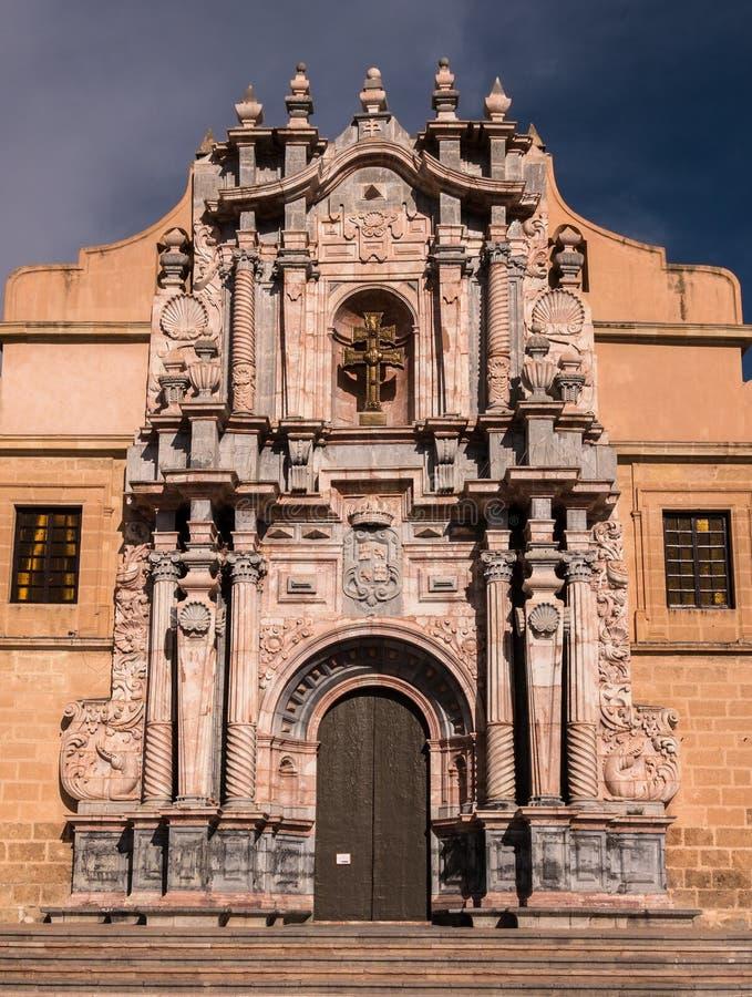 卡拉瓦卡德拉克鲁斯,西班牙 库存图片