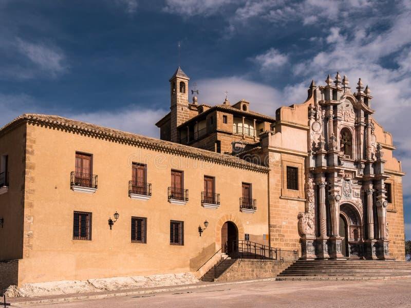 卡拉瓦卡德拉克鲁斯,西班牙 免版税图库摄影