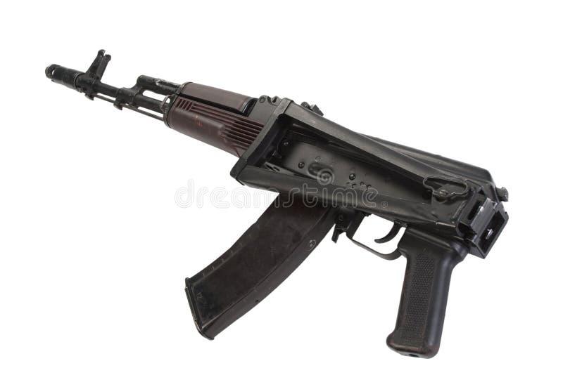 卡拉什尼科夫攻击步枪aks74 免版税库存照片