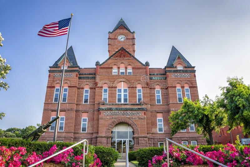 卡斯县法院大楼 库存图片