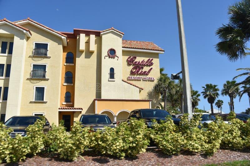 卡斯蒂略真正的旅馆圣奥斯丁旅馆,佛罗里达 库存照片