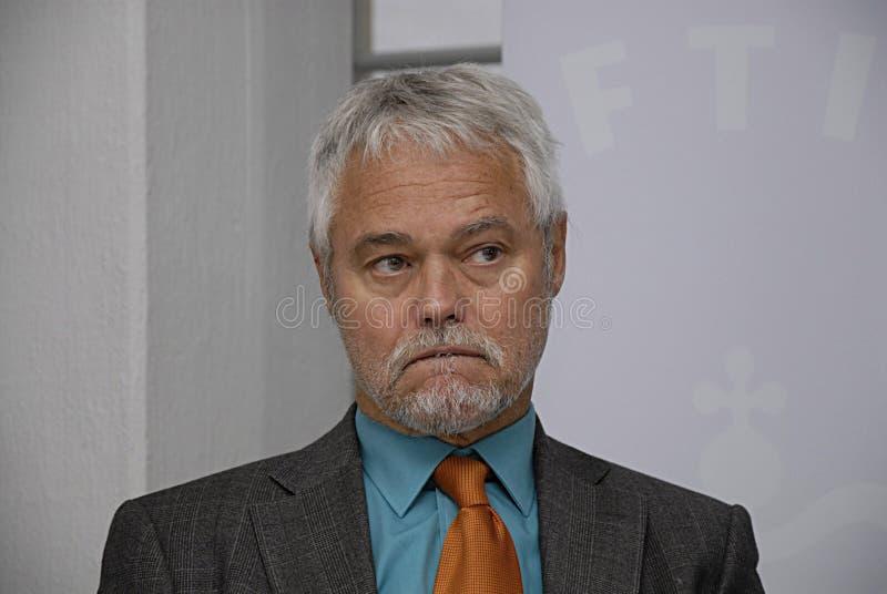 卡斯滕koch主席委员会 库存照片