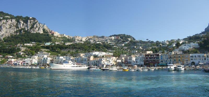 卡普里岛-意大利 免版税图库摄影