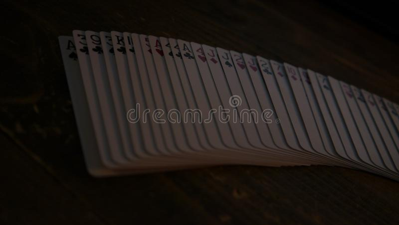 卡片传播 库存图片