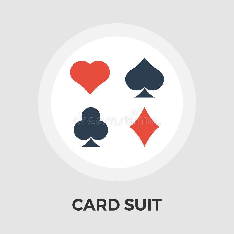 卡片衣服传染媒介平的象 向量例证