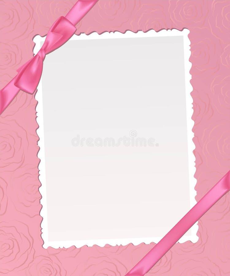 卡片设计框架模板 向量例证