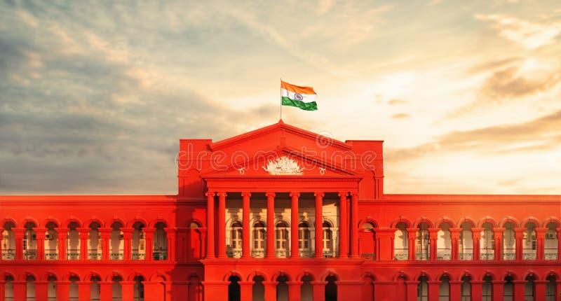 卡纳塔克邦高等法院  免版税图库摄影